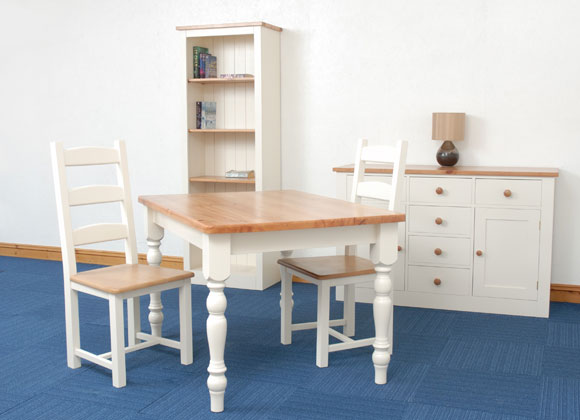 Shaker Pine Dining Kitchen Set