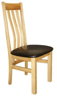 Cwmbran Pine Oak Centre Chairs