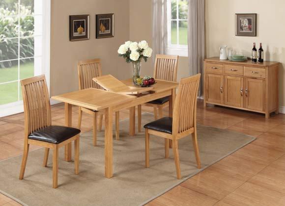 Hartford City Oak Range Dining Set
