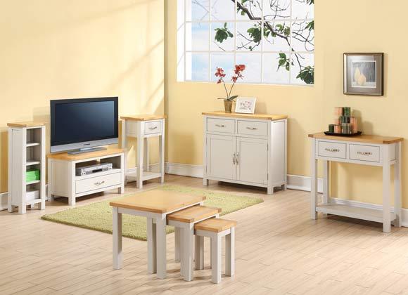 Hartfort Painted Oak Living Room Set