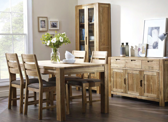 Oslo Oak Dining Set